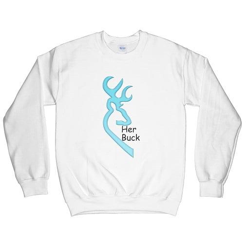Her Buck his Doe Shirts - Her buck sweatshirt