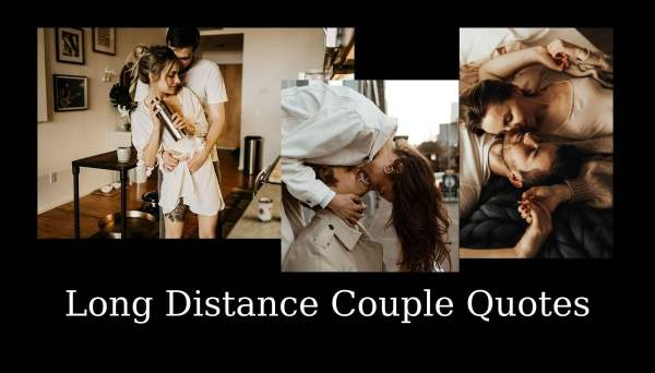Long Distance Couple Quotes