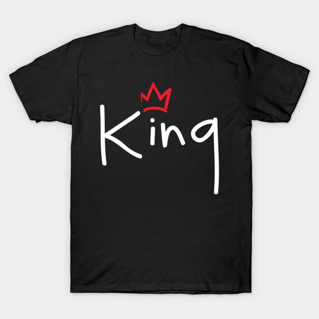 Crown King and Queen Sweatshirts