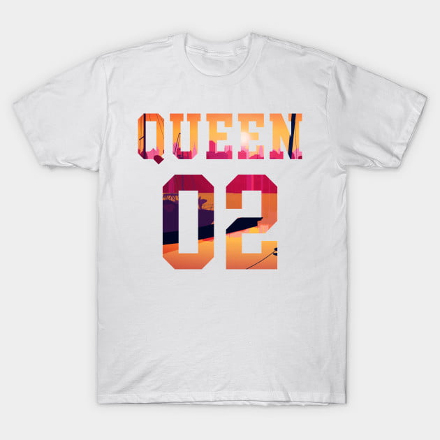 King Queen Together Since 2002 Shirts