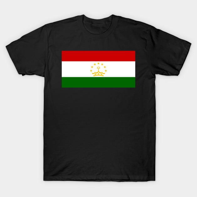 Flag of Tajikistan T-Shirt