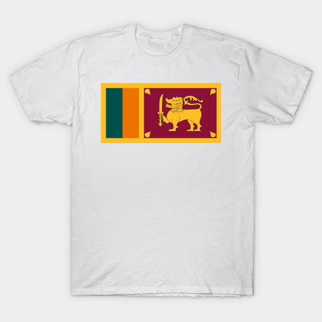 Flag Of Sri Lanka T-Shirt
