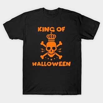 King Of Halloween T Shirt