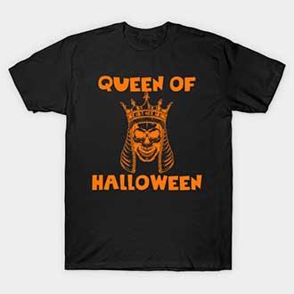 Queen Of Halloween T Shirt