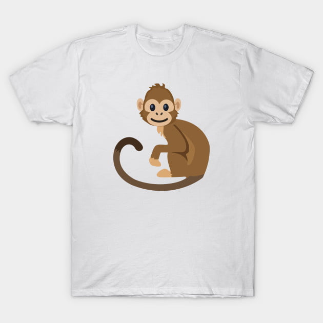 Monkey T-Shirt - Animal Shirts