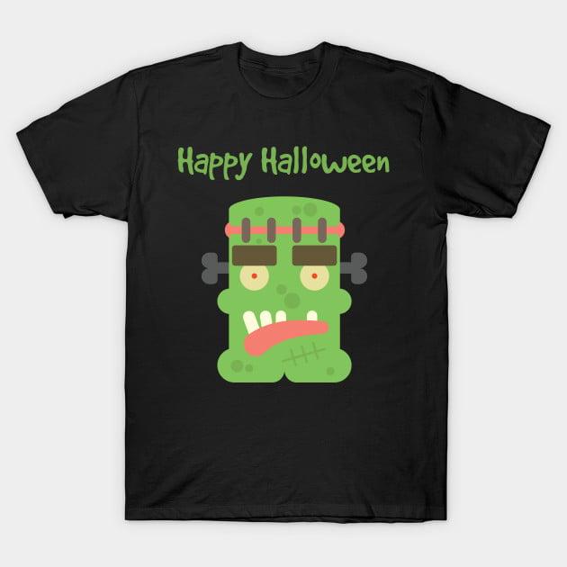 Cute Monster Halloween T-Shirt