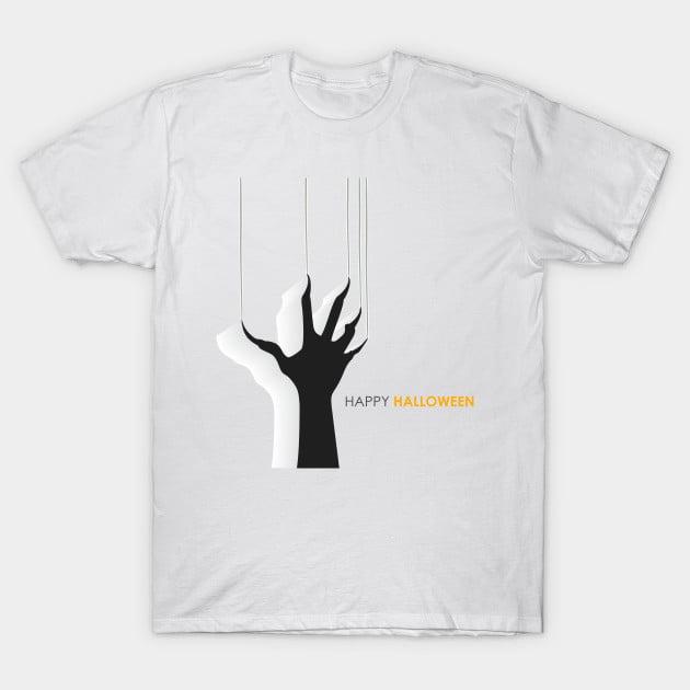 Horror Hand Halloween T-Shirts