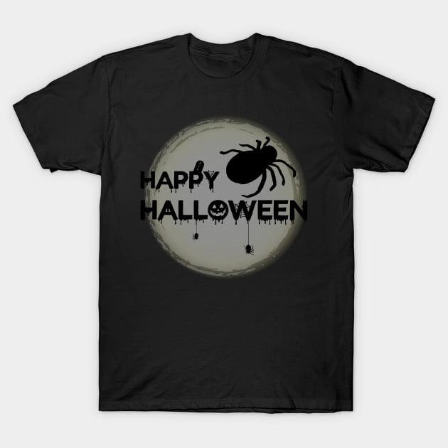 Happy Halloween Spider T-Shirt