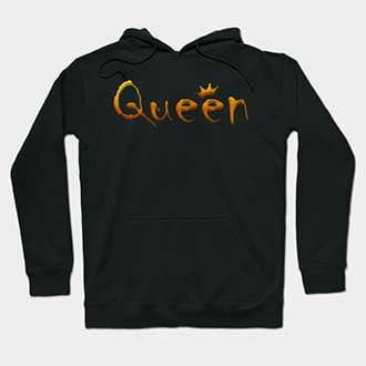 Cute Matching King and Queen Couple Hoodies