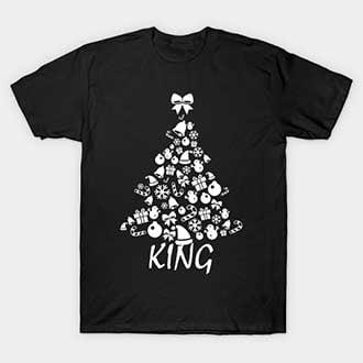 Gifts Pine Christmas King T-Shirt