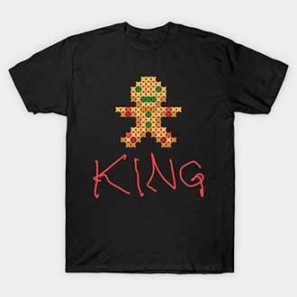 Pixel Ginger Christmas king T-Shirt