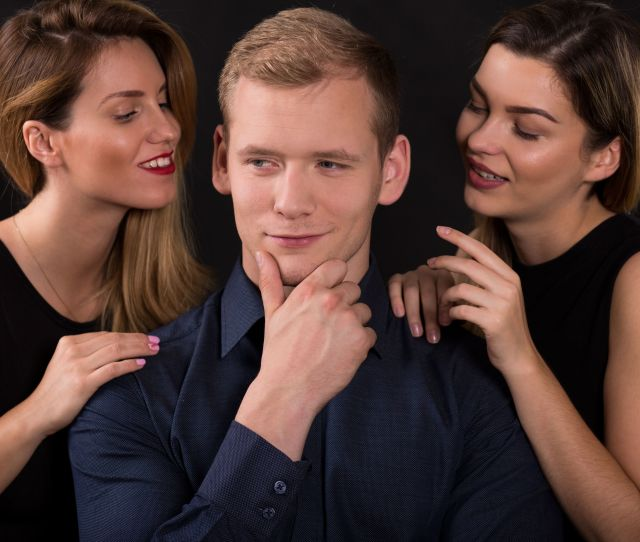 45987439 Picture Of Alluring Women Seducing Narcissistic Man