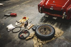 Image of a car being repaired in a shop. Repair your marriage today through couples counseling in Cincinnati, Oh 45226