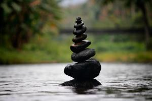 Stacked Rocks - Meditation & Cognitive Behavioral Therapy for Depression l Tim Barron l Cincinnati, OH 45226