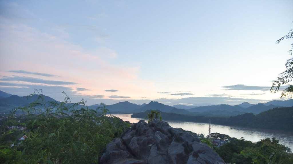 Phousi mountain luang prabang