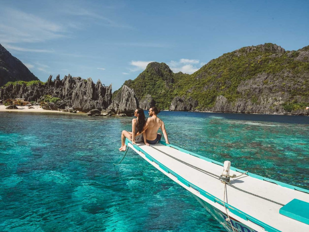 Private Island Hopping for couples El Nido