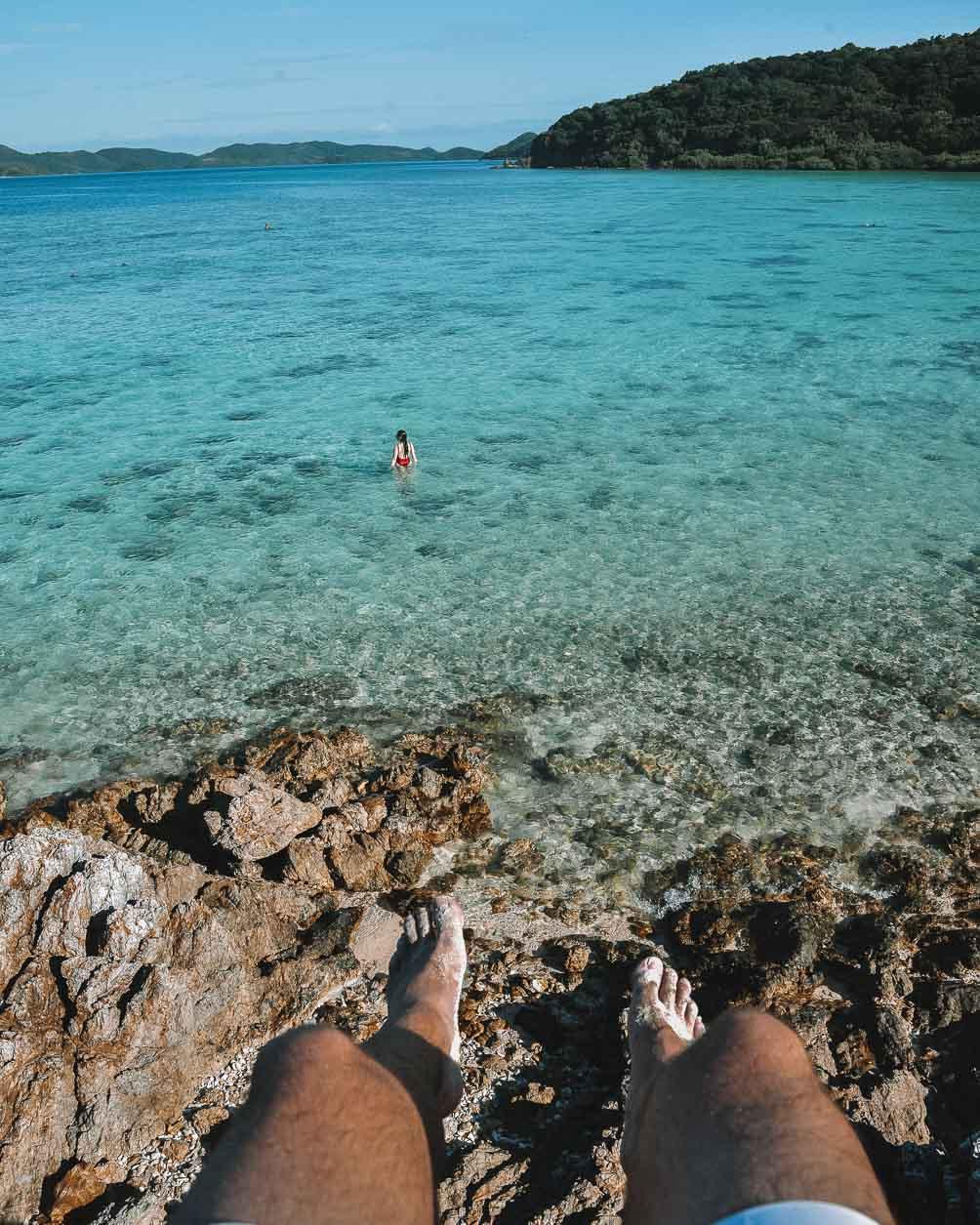 White Sand Beach Philippines
