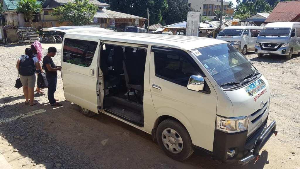 Puerto Princesa minivan, El Nido minivan