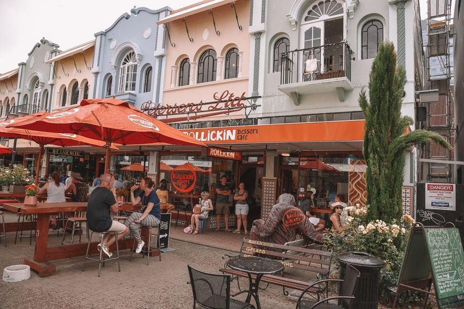 Christchurch, New-Regent-Street-Christchurch, 2-week-new-zealand-itinerary, 7-day-south-island-itinerary