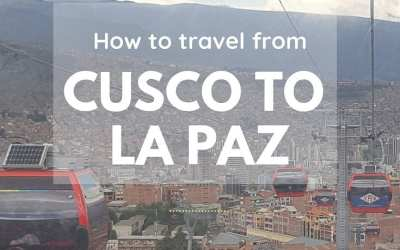 How to travel from Cusco to La Paz by Bus