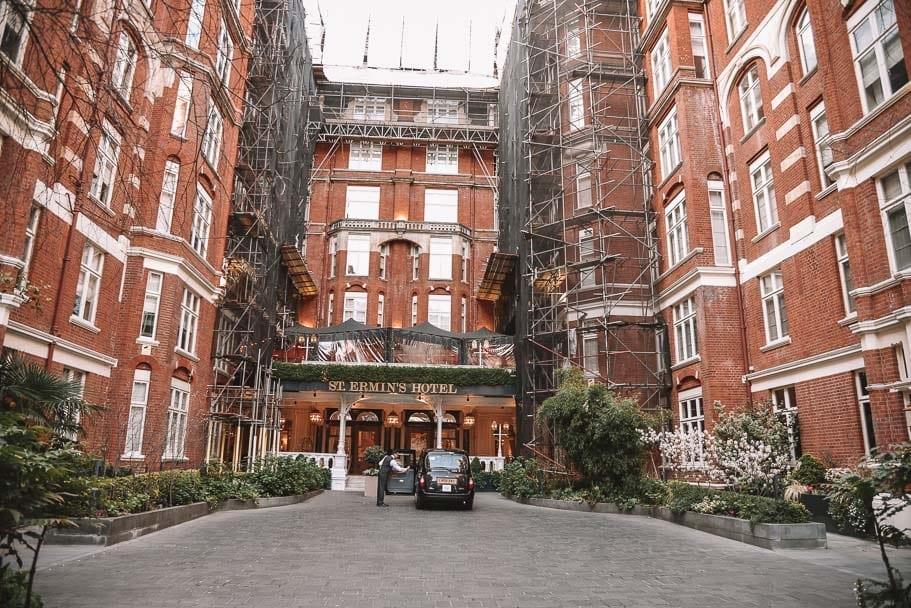 St Ermin's Hotel near Big Ben