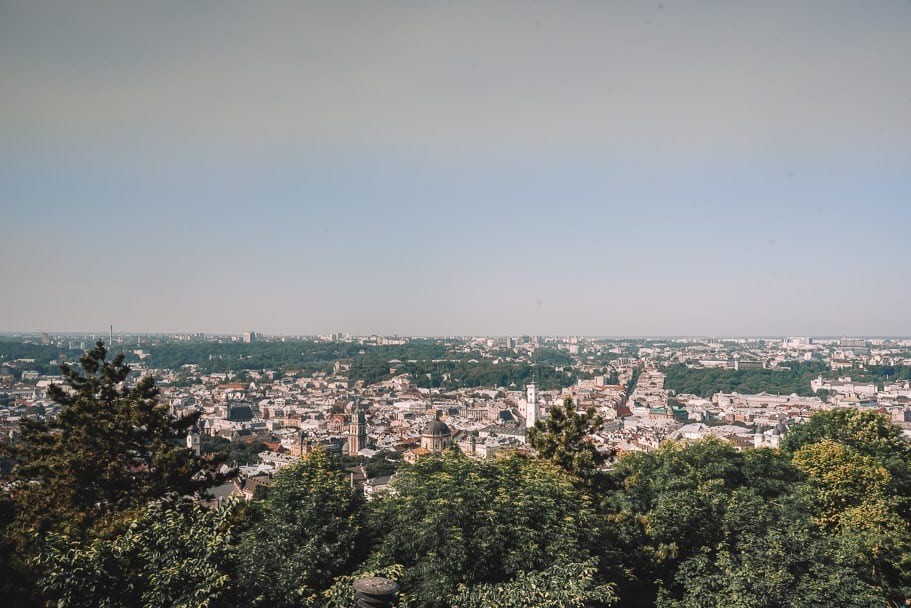 Lviv High Castle (The Most Overrated Thing to do in Lviv)