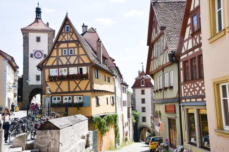 Plönlein-most-photographed-house-Germany