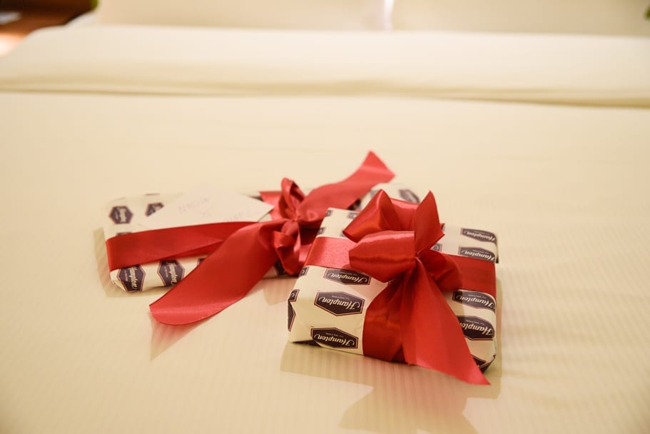 Hamption-by-Hilton-Warsaw-City-Centre-review-welcome-gift