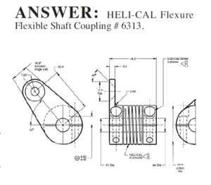 Case Studies: Helical flexure for two different applications