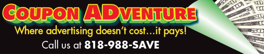 Coupon ADventures, where advertising doesn't cost...it pays!