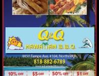 Q&Q Hawaiian BBQ, Chatsworth, coupons, direct mail, discounts, marketing, Southern California