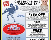 Mike Stern Service Company, Chatsworth, coupons, direct mail, discounts, marketing, Southern California
