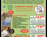 DryMaster Carpet, Granada Hills, coupons, direct mail, discounts, marketing, Southern California