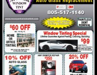 Moorpark Window Tint, Moorpark, coupons, direct mail, discounts, marketing, Southern California