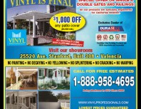 Vinyl Professionals, Porter Ranch, coupons, direct mail, discounts, marketing, Southern California