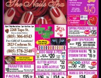 The Nails Spa, Simi Valley,, coupons, direct mail, discounts, marketing, Southern California