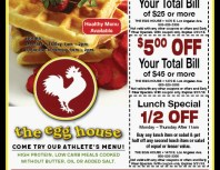The Egg House, Simi Valley,, coupons, direct mail, discounts, marketing, Southern California
