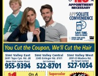 Supercuts, Simi Valley,, coupons, direct mail, discounts, marketing, Southern California