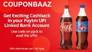 Paytm Coke Cashback Offer