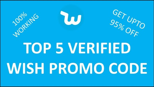 Wish Promo Code 95% Off