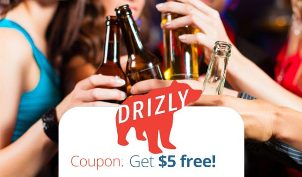 Drizly Promo Code to get 5 dollar discount
