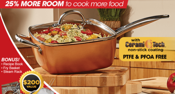 Copper Chef Coupon Code With 45% Off August 2019-Couponbates