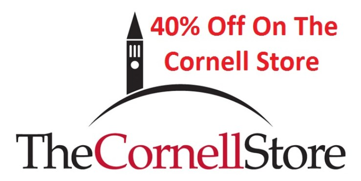 40% Off w/ The Cornell Store Coupon December 2018 1