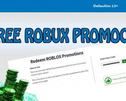 Free Roblox promo codes logo