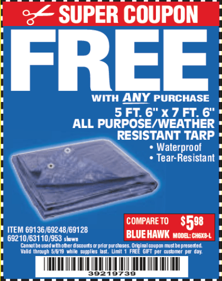 Harbor Freight Coupons Database