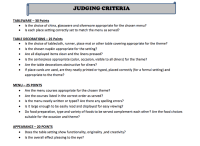 Door Decorating Contest Judging Criteria