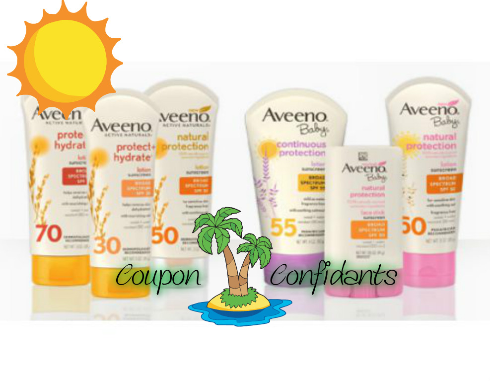 HOT Printable for HOT days! ~Aveeno Sun care