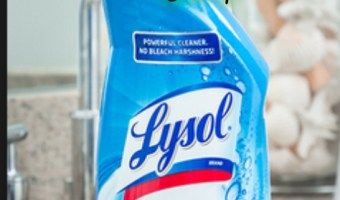 Lysol toliet bowl cleaner only .77 at Target