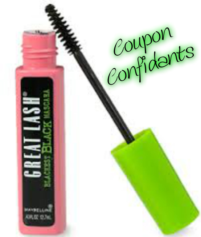 8c6b6d6793f Buy 2 Maybelline NY Great Lash Mascara, $3.00 each (50% off) Use four $3/1  Maybelline New York Mascara, any, 10/4 RP #1 (R), exp. 10/31/2015