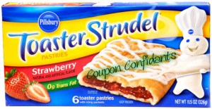 HOT and yummy toaster strudel deal!